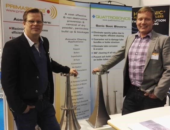 Bo and Matias at Energy 2016 in Finland